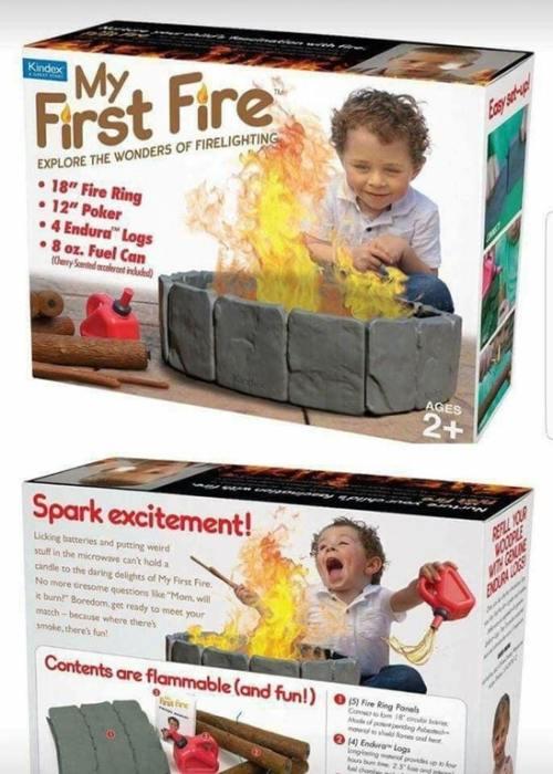 Mi primer fuego