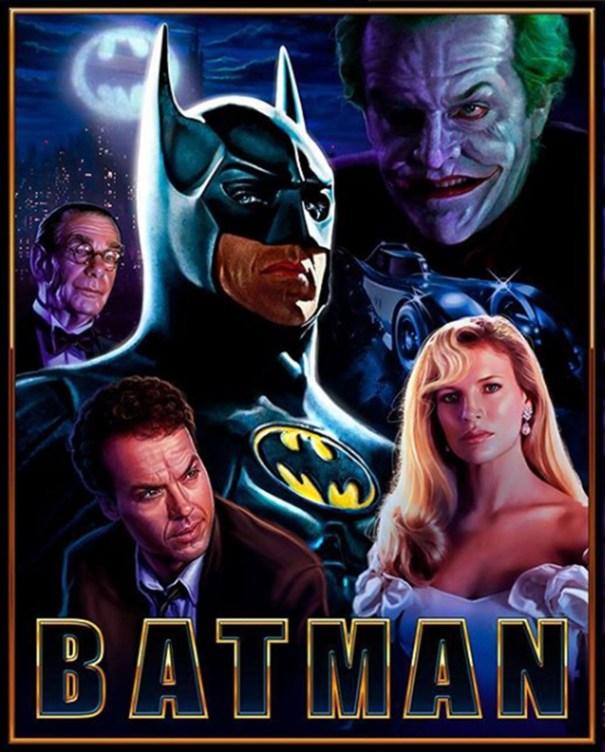 1989 Batman Poster – DC Comics
