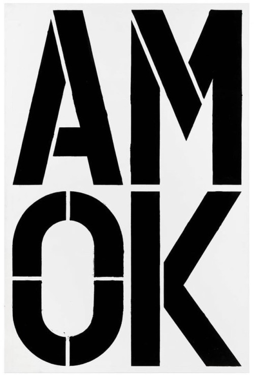 tumblr_p21cdfsaxR1qkms95o1_500 hoscos:Christopher Wool, Untitled, 2004 Contemporary