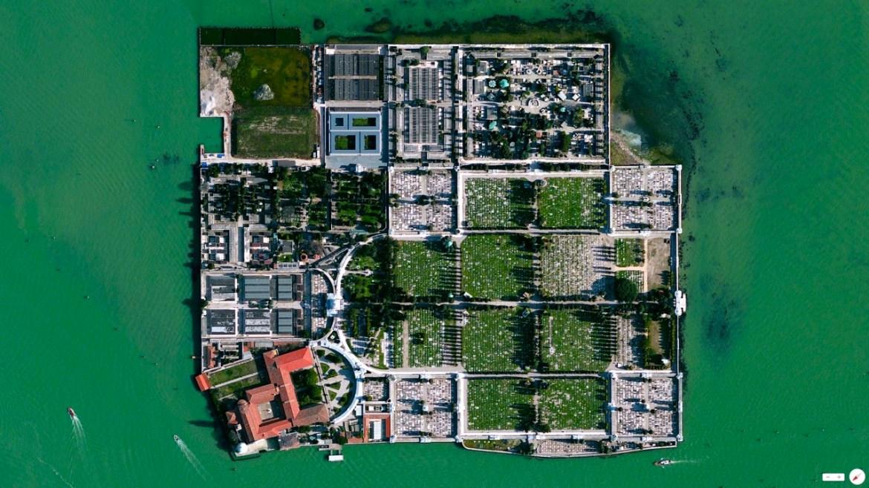 Isola di San Michele Venice, Italy 45.446944°N 12.347222°E