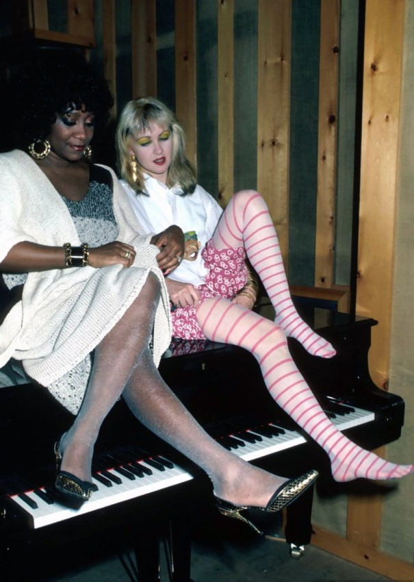 Patti LaBelle and Cyndi Lauper at The Power – St  – Power R&B 74c3bf