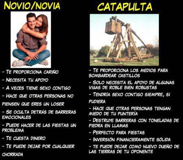 Las comparaciones son odiosas