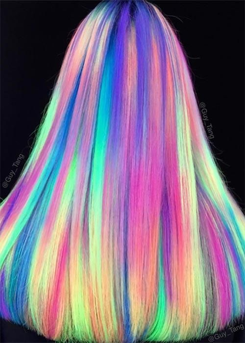 bright colorful hair | Tumblr