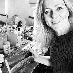 New beginnings on a little seaside bay. #artworks #inmystudio...........#abstractart #perthart #perthartist #illustration #artworks#artsy #perthcreatives #freoartist #fremantle #drawdrawdraw #paintings #oceanart #waves #acrylicpainting#interiordesign #creativityfound #instart #instagood #artwork_in_studio (at Perth, Western Australia)
