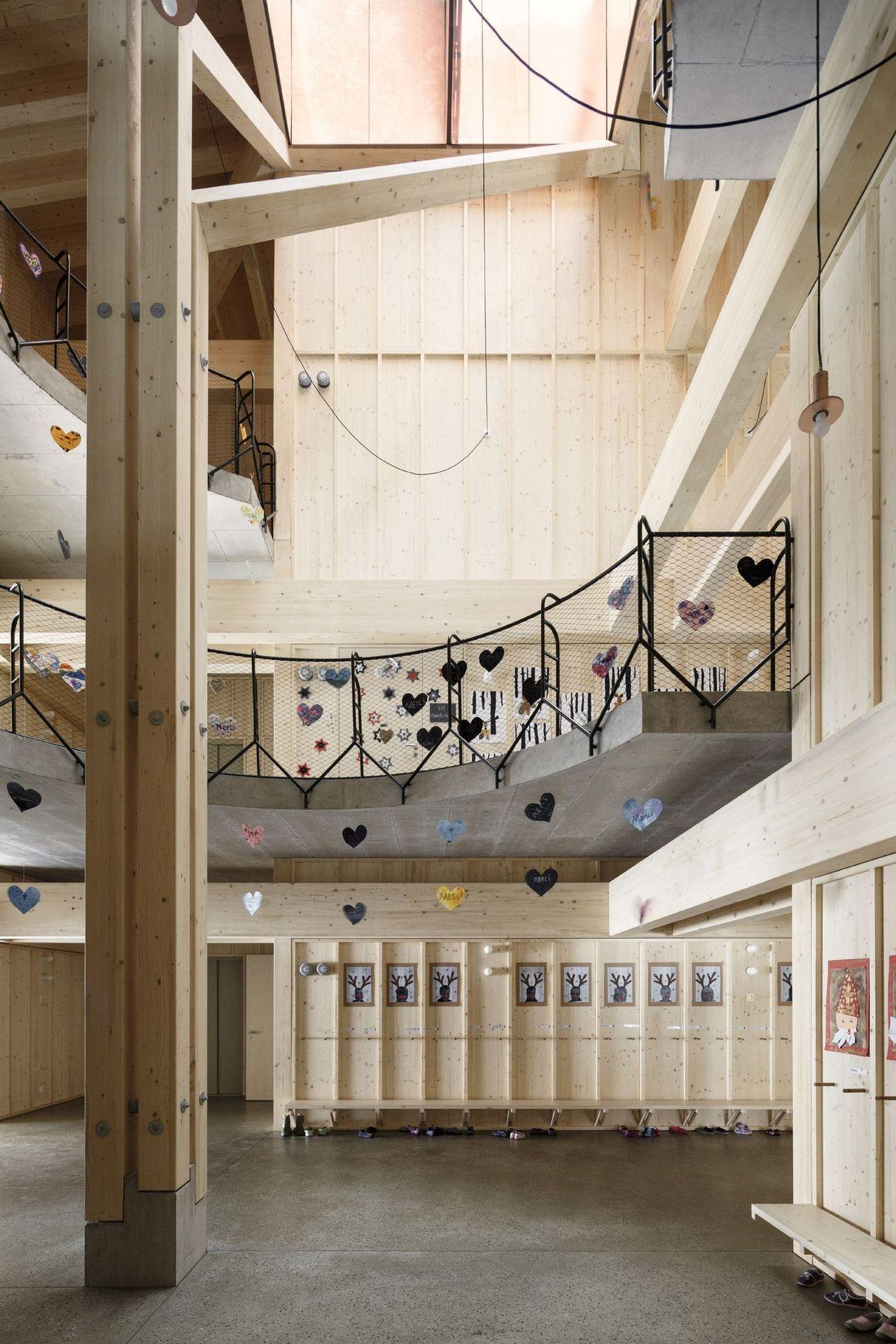 School In Orsonnens / Tedu0027A Arquitectes