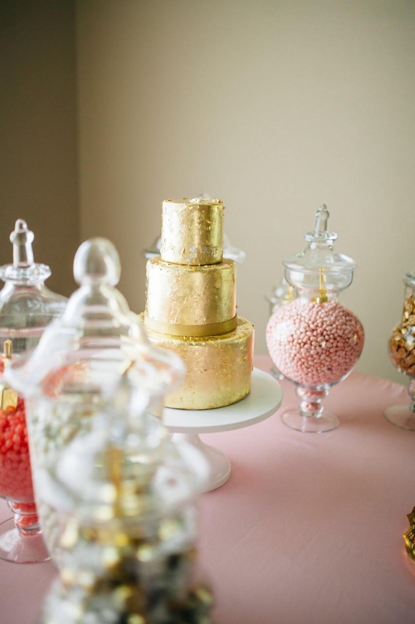 23 K Gold Leaf Cake I Groom's Cake I Chocolate Groom's Cake I Dessert Bar I Dessert Table I Candy Table I Candy Bar #mischiefmakercakes #themischiefmaker #goldleafcake #candy #desserttable #groomscake