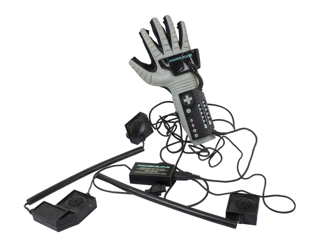 The bureau of suspended objects item 184 nintendo power glove found on 8 7 15