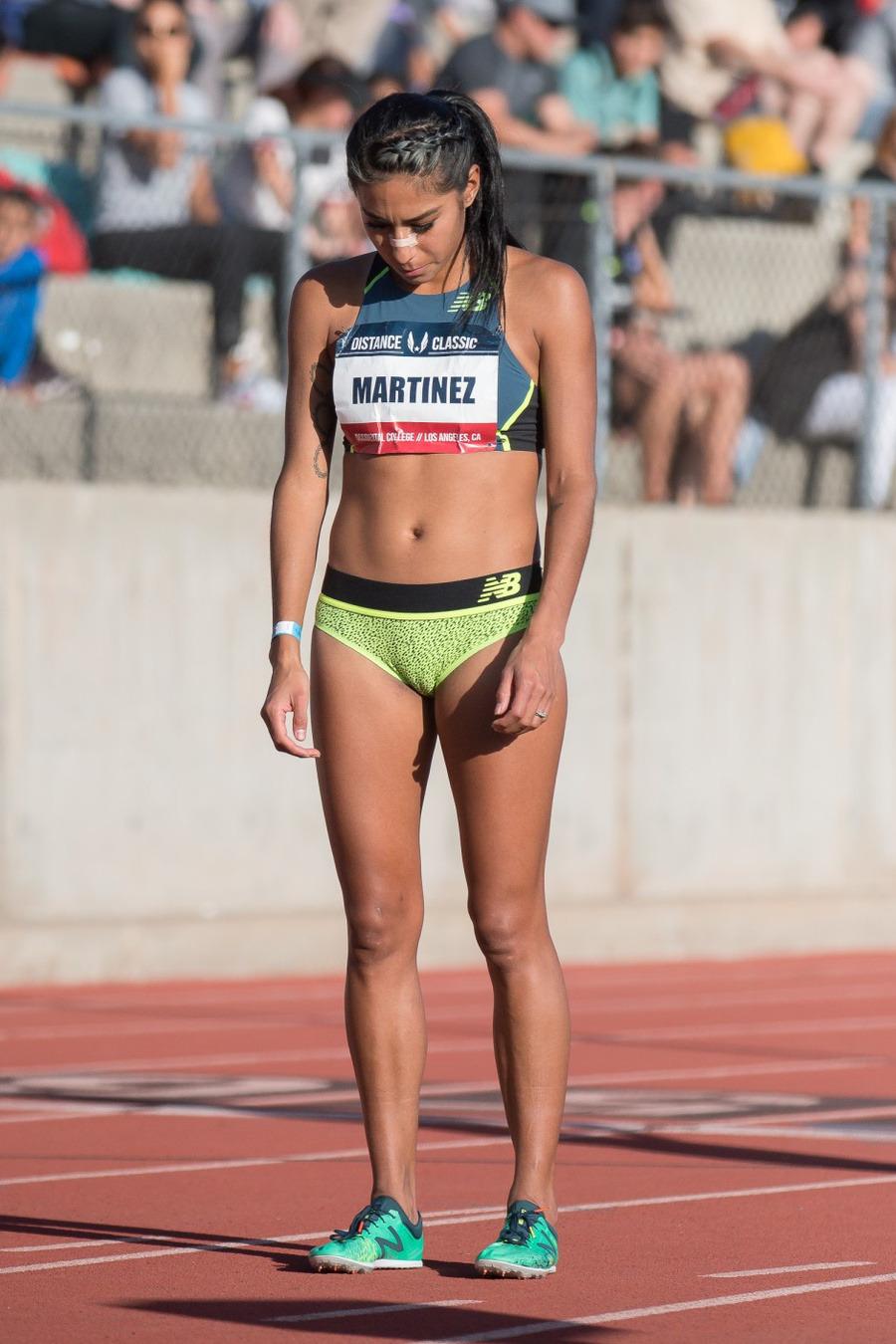 Brenda Martinez 2017 USATF Distance Classic – Gymnastics