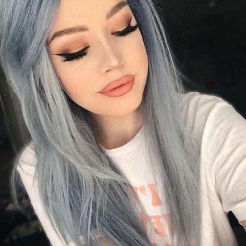 Pastel Gray Hair Tumblr