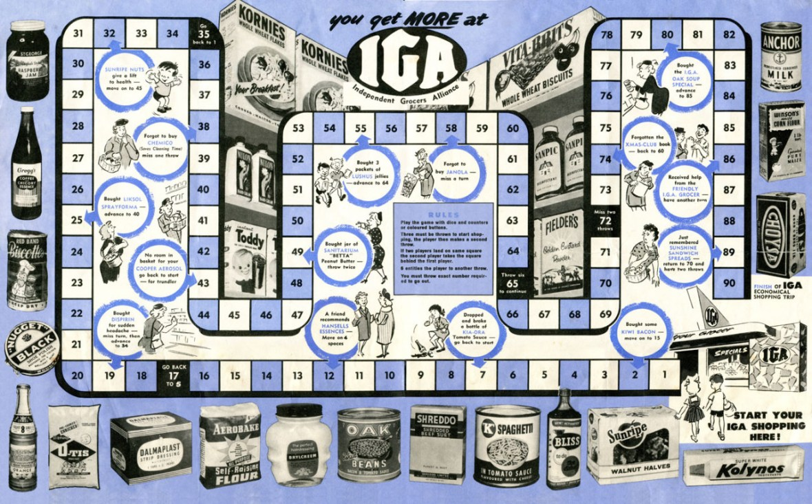 Independent Grocers Alliance (IGA) of New Zealand - 1950's