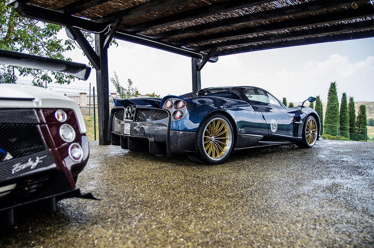Starring: Pagani Huayra RoadsterBy Jan