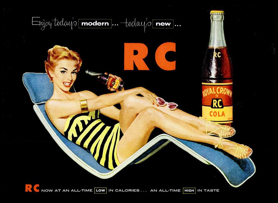 Royal Crown Cola - 1955