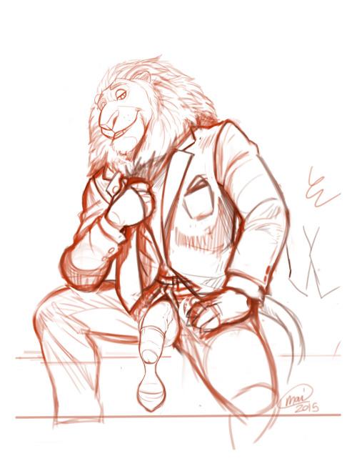 ponyking:Mayor Lionheart#lionbate