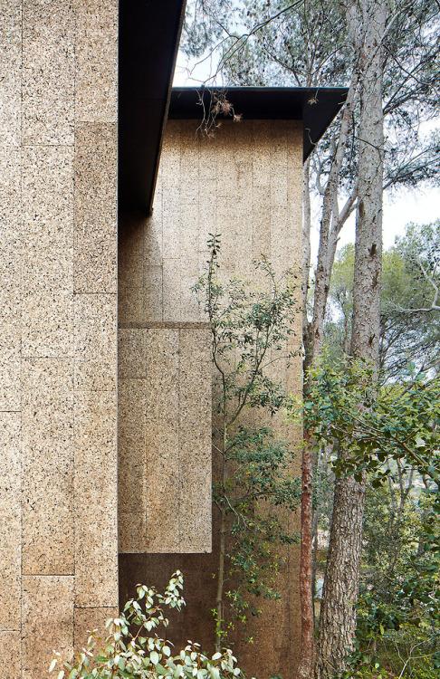 lpez rivera arquitectes cork houses palafrugell 2016 photos
