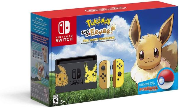 89c72b306a7 The Pokemon Let s Go Eevee Pikachu Switch Bundle announced in ...