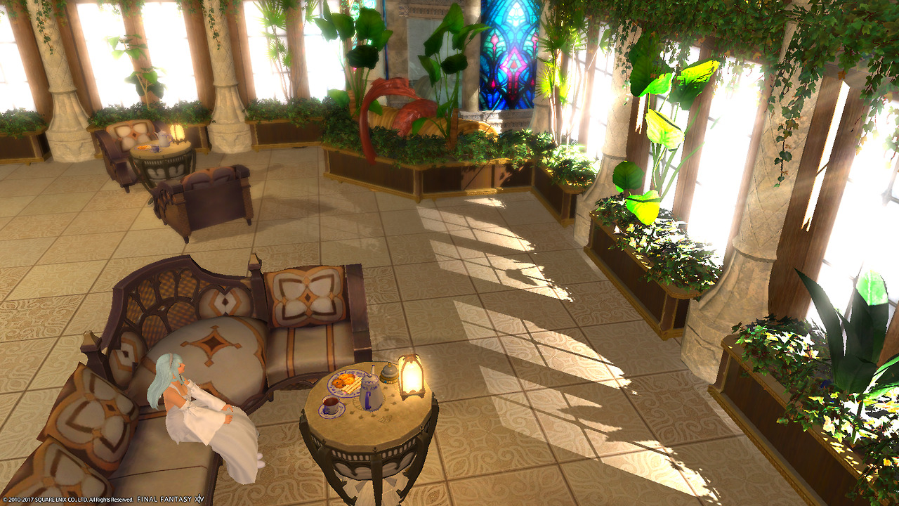 Alices House Designs In Final Fantasy XIV The Basement I Designed For Ces Xidronias LB Med