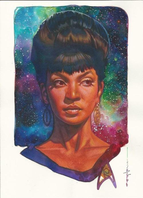 Nyota Uhura by Brian Stelfreeze
