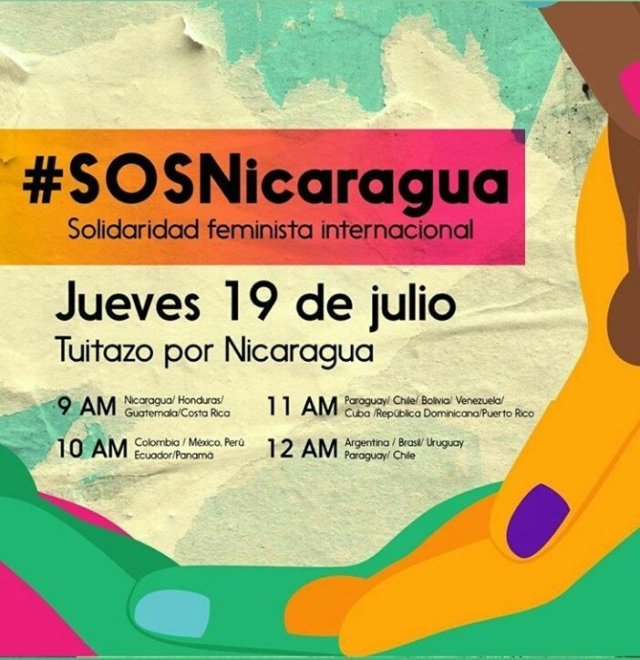 Resultado de imagen para #SOSNicaragua sin copy ray