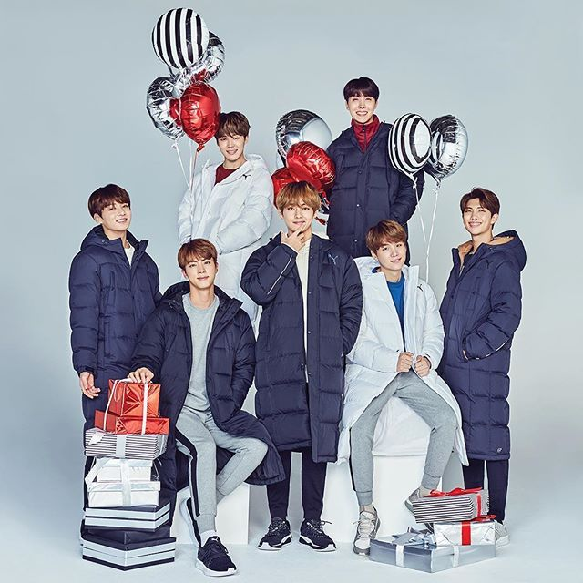 Holiday Joy 171130Bts Puma X – 3A4jRL5