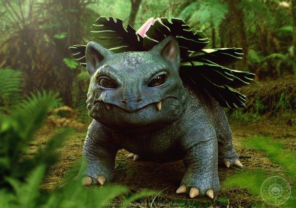 8cfa33f20 Realistic Bulbasaur Evolution made by Joshua Dunlop – Nostalgia