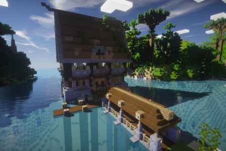really cool houses to build in minecraft » 4K Pictures | 4K Pictures ...