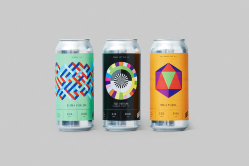 """tumblr_p2gajza2dS1r5vojso2_500 Packaging Design for Halo Brewery by way of Underline Studio""""Halo is an... Design"""