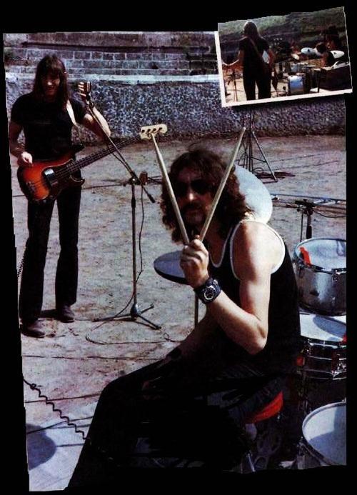more-relics:Pink Floyd – Live at Pompeii,oct 1971 – Pink Floyd