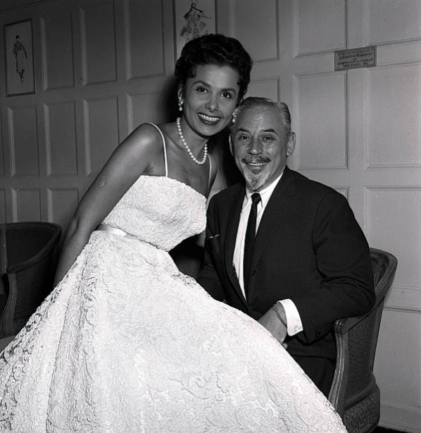 Lena Horne with her husband Lennie Hayton in L… – R&B