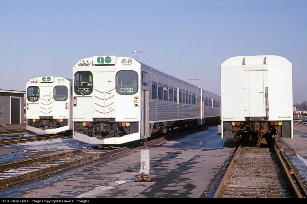 When GO Transit first started service, they … – Trains