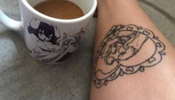 Inuyasha And Kagome Tumblr Tattoo