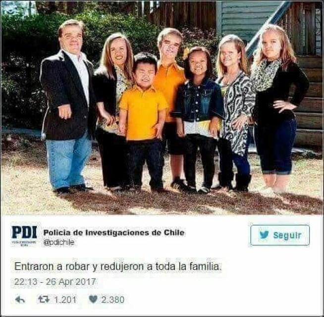 Entraron a robar y redujeron a toda la familia