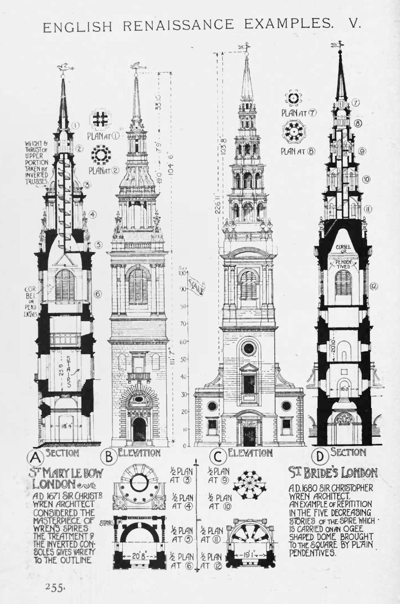 Best Kitchen Gallery: European Architecture English Renaissance Church Steeple A History of English Renaissance Architecture on rachelxblog.com