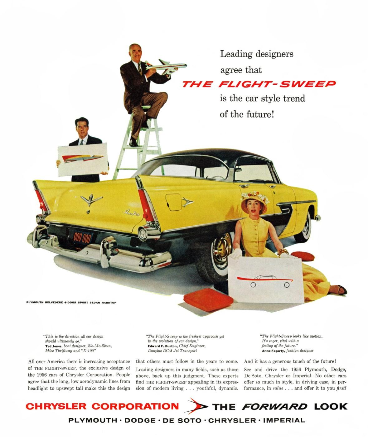 1956 Plymouth Belvedere 4-Door Sport Sedan Hardtop
