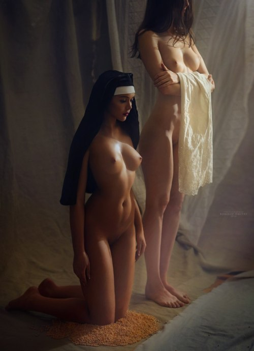 """myalaparisienne: """"©Dmitry Borisov """" """"The Reverend Mother awoke early as usual. She had come to a decision in the night: Sister Sarah had seemed thoroughly submissive the previous day and, although she wanted to break her spirit, she didn't want to..."""