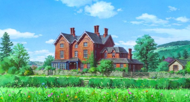 Phenomenal Ghibli Collector A House With A Beautiful Ga Bruno Mars Download Free Architecture Designs Rallybritishbridgeorg