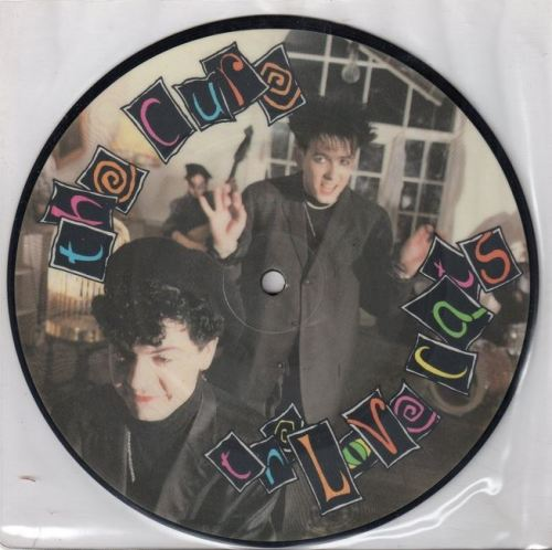 """vinyloid: """" The Cure - Lovecats (Picture Disc) """""""