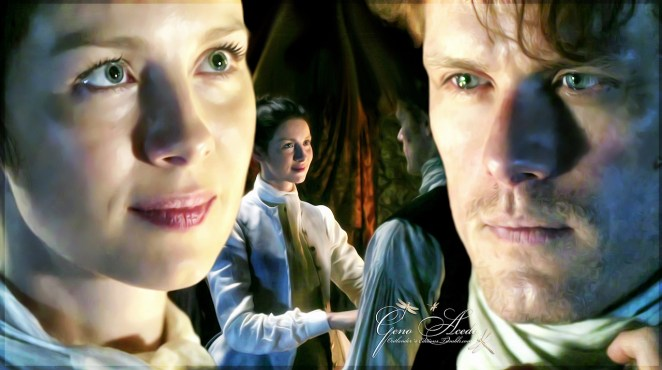 Jamie and Claire #Outlander
