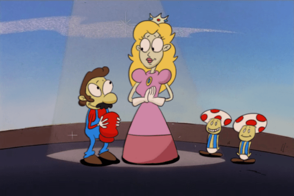 rockosedits:Super Mario 64 in Rocko's Modern Life style! – Nostalgia
