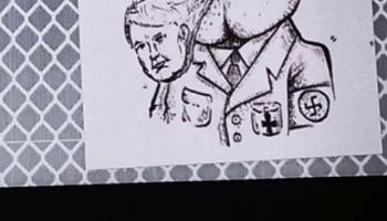 a785fbd735b72 NAZI TRUMPS FUCK OFF  above  sticker graffiti … – Graffiti