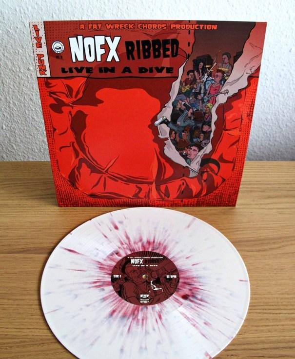 NOFX – Ribbed – Live in a Dive LP – Vinyl