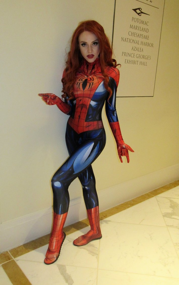 Spider-lady by jpop52  Check out http://hotcosplaychicks.tumblr.com for more awesome cosplayWe're on Facebook!https://www.facebook.com/hotcosplaychicks