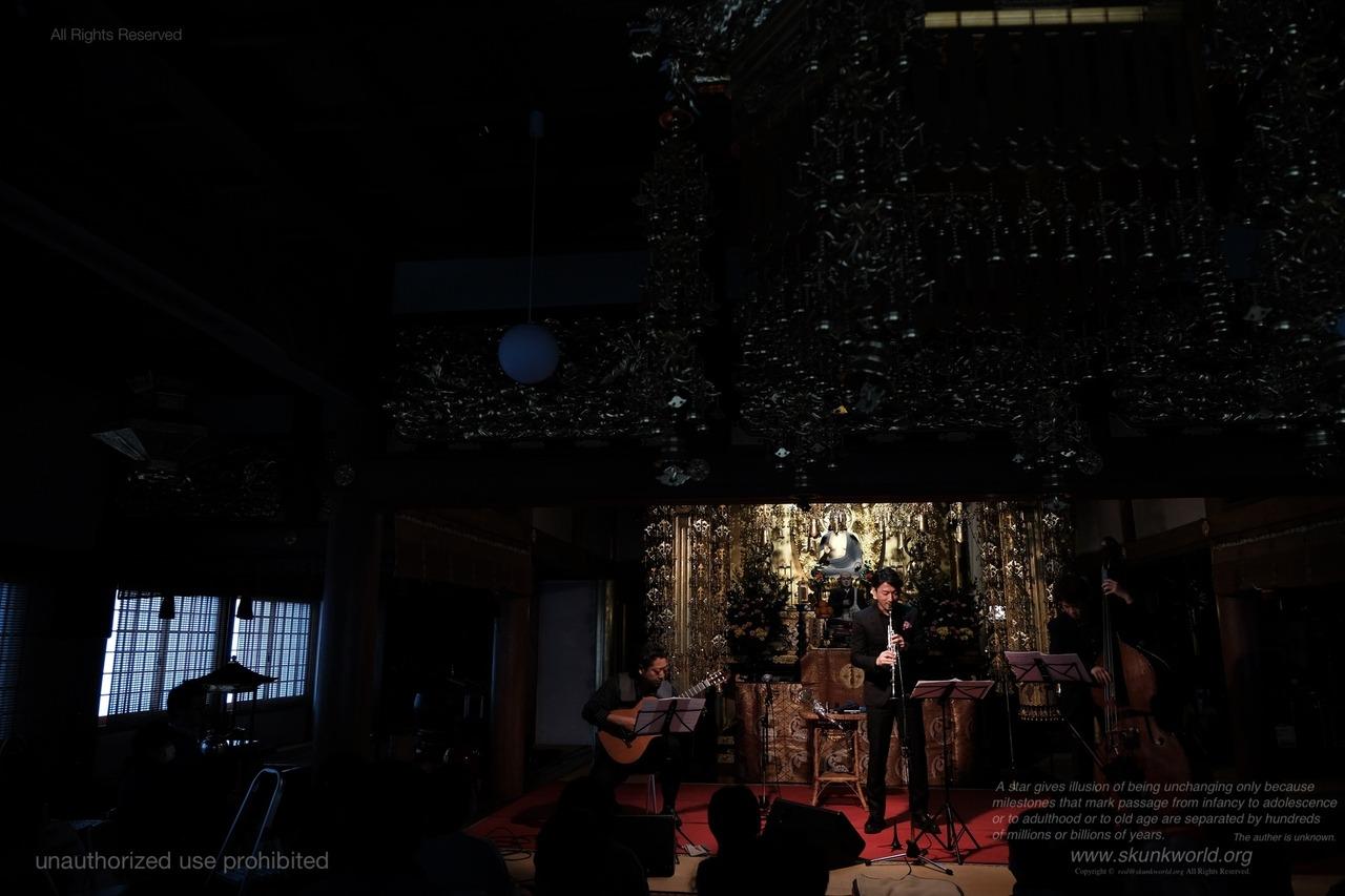 鈴木孝紀:cl-SUZUKI, Takanori-http://takanorisuzuki.net/ 愛川聡:gt-AIKAWA, Satoshi-http://spiritual-rebirth.music.coocan.jp/ 荒玉哲郎:bassist-ARATAMA, Tetsuro-http://www.rocketz.co.jp/aratama/鈴木孝紀trio #Paracca リリースツアー