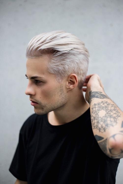 Silver Hair Tumblr