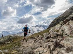 Tor Des Geants scenery. Tor des Géants is an endurance trail race (330 km - 24000m) which takes place in Aosta Valley, Italy, in September.