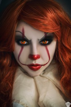 Pennywise 2 by ThePuddins  Check out http://hotcosplaychicks.tumblr.com for more awesome cosplaySponsored: Get $3 off a GeekFuel monthly box on us! http://hotcosplaychicks.tumblr.com/geekfuel