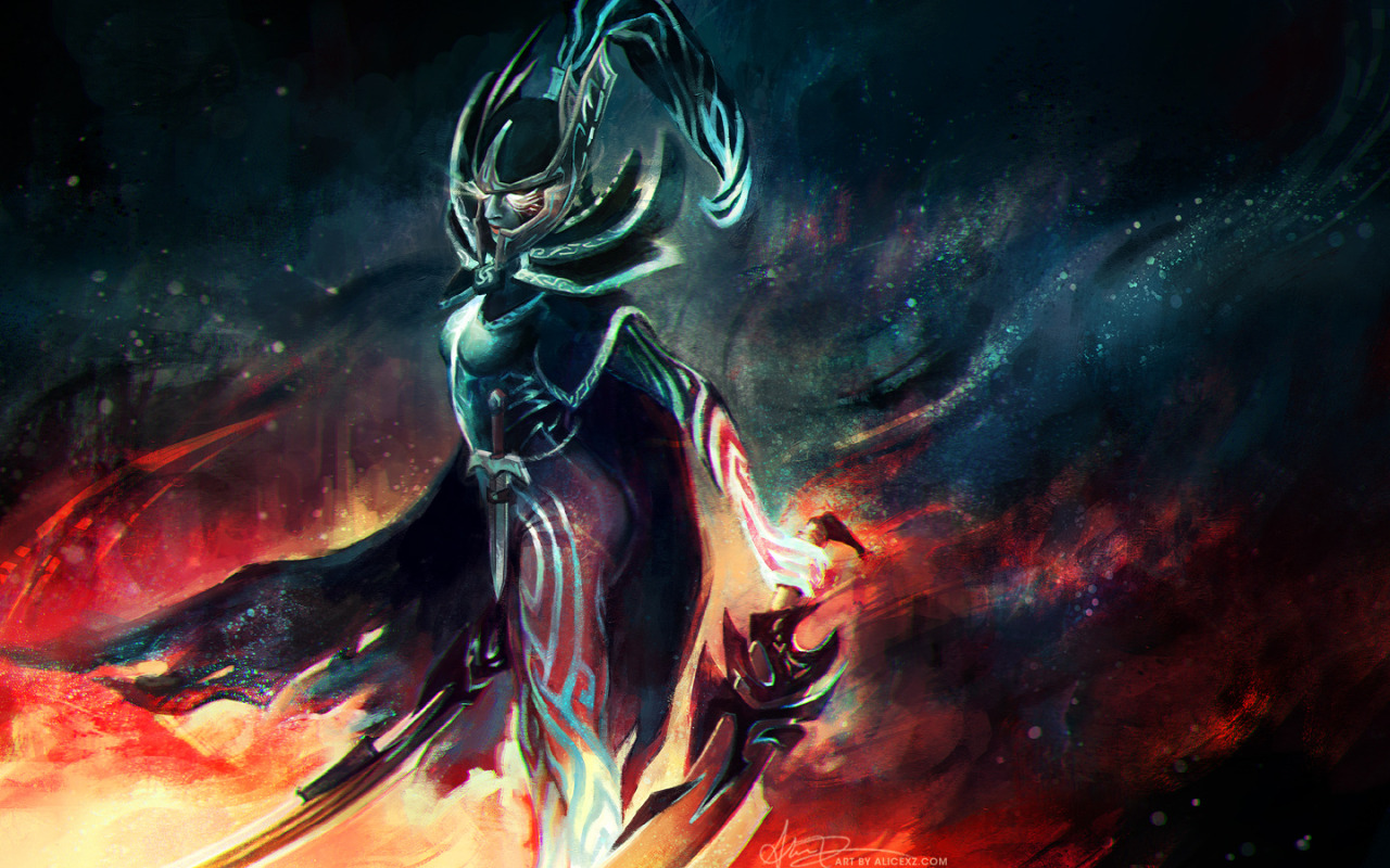 Alice X Zhang Heres A Painting Of Phantom Assassin