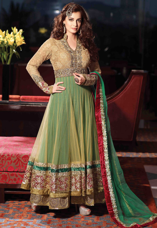 Utsav Fashion We are celebrating  Green as  ColorOftheMonth at Utsav Fashion to paint  your wardrobe with