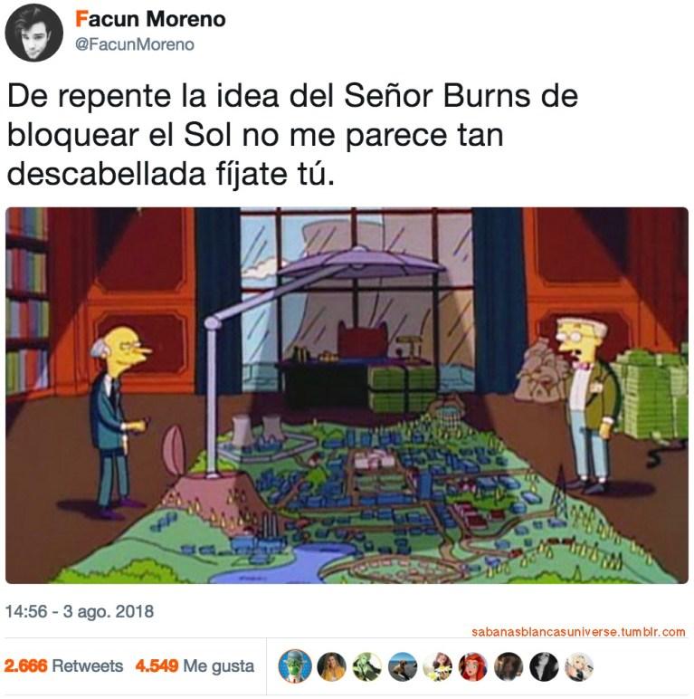 El Señor Burns tenia razón