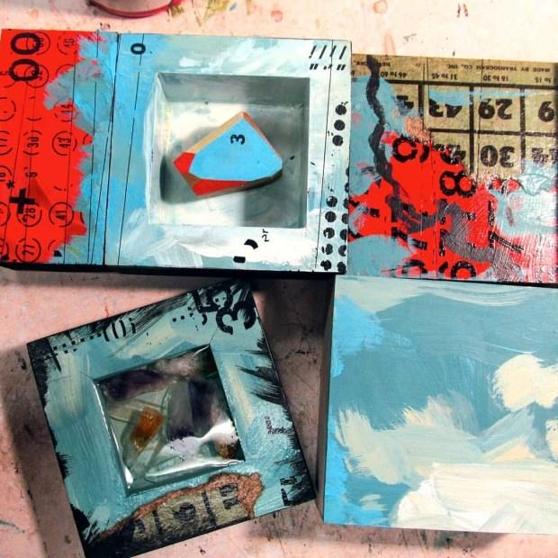 Art Factory Fun Time Assembly Line ©®™ ————————— #jimbot #art #artist #abstractart #abstractpainting #abstract #assemblage #fun #enjoyingart #painting  #milwaukeeartist #milwaukeeart #contemporary #contemporaryartist #contemporaryart #rockhound