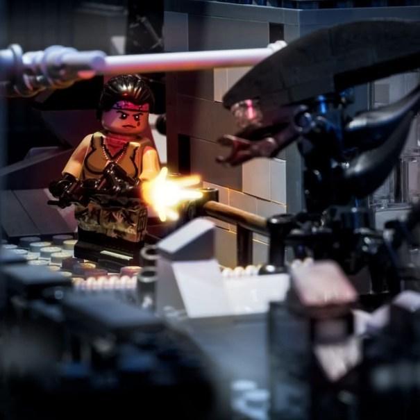 Offworld Marines Smart Gunner #brickmania #leg… – Lego